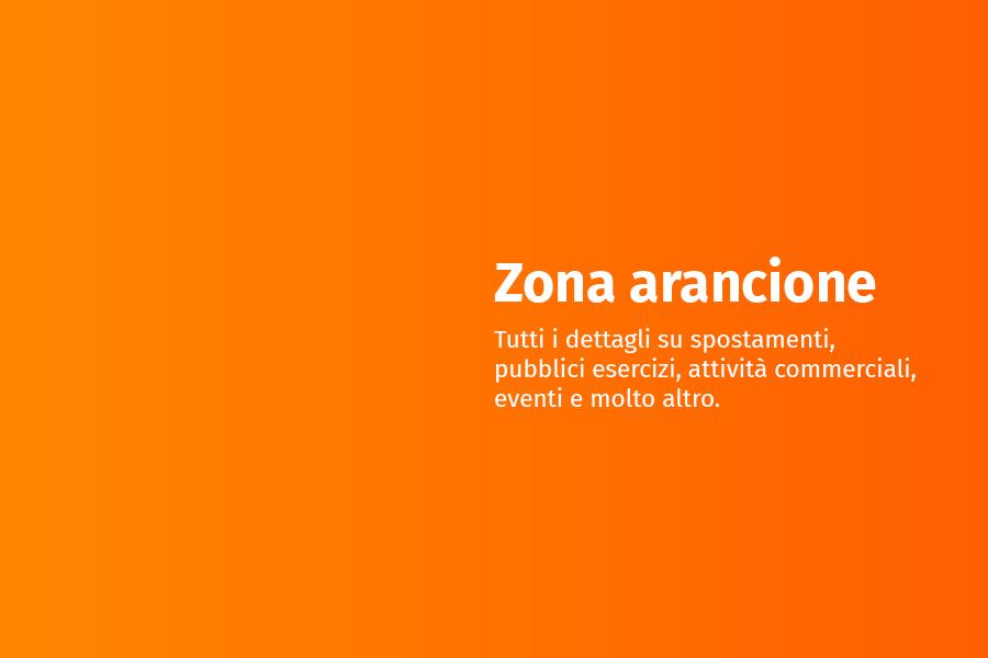 Il Veneto in zona arancione